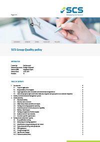 SCS Formblatt EN Qualitypolicy